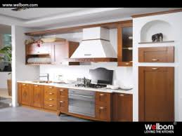 Wholesale Custom Kitchen Cabinets China Welbom Walnut Solid Wood Modern Hangzhou Wholesale Custom