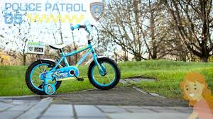 ferrari bicycle kids apollo police patrol kids bike 14
