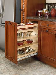Kitchen Cabinets Spice Rack Pull Out Amazon Com Rev A Shelf 448 Bc 11c 11 In Pull Out Wood Base