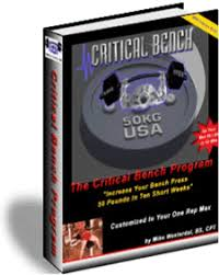 Increase Bench Press Fast Critical Bench Bench Press Affiliates