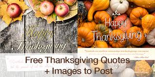 free thanksgiving quotes images to post
