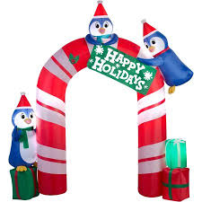 christmas inflatables gemmy airblown inflatables christmas gemmy airblown 10 5 penguin