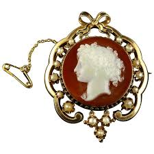 cameo antique necklace images Antique cameo gold brooch pendant for sale at 1stdibs jpg