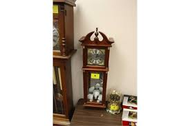 Antique Curio Cabinet With Clock Sunbeam Wall Clock With Curio Cabinet
