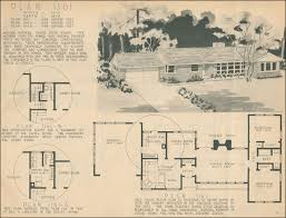 1950s ranch house plans mid century ranch style 1950 home building plan service