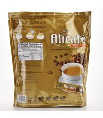 Kopi Tongkat Ali Ginseng Coffee cafe 5 in 1 premix with tongkat ali coffee and ginseng 20 s x 20g