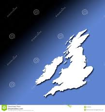 Blank Map Britain by Uk And Ireland Map Royalty Free Stock Image Image 6056166