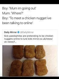Chicken Nugget Meme - meet a chicken nugget wtf daily lol pics