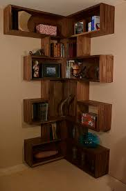 Walnut Corner Bookcase Bookcase Walnut Our Work Made By Tom Bruce