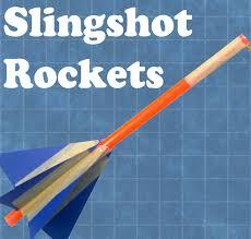 teach engineering slingshot rockets rubber band crafts craft