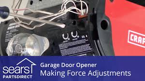 garage door covers style your garage garage door won u0027t open or close force adjustments youtube