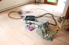 hardwood flooring refinishing how to sand like a pro