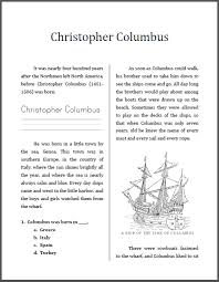 christopher columbus mini unit workbook this is designed for