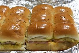 easy party ham rolls recipe