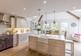 kitchen islands with breakfast bars shaker kitchen kitchen island breakfast bar butler sink