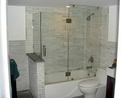 bathroom beautiful custom glass bathtub enclosures 69 moselle
