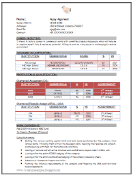 chartered accountant resume over 10000 cv and resume samples with free download chartered