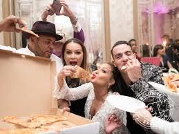 adrienne bailon u0027s wedding cake and reception photos