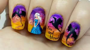 10 game of thrones nail art for fans nail design ideaz