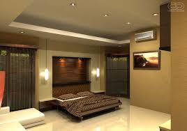 bedroom creative design using white leather sectional sofa and