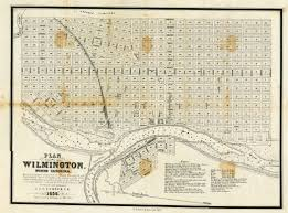 Unc Map Plan Of Wilmington N C 1856