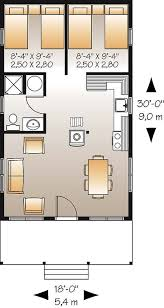 2 Bedroom Travel Trailer Floor Plans 107 Best Floor Plans Images On Pinterest Small Houses Small