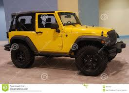 jeep rubicon yellow yellow jeep royalty free stock photography image 3637297