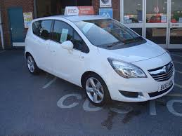 vauxhall meriva used olympic white vauxhall meriva for sale devon