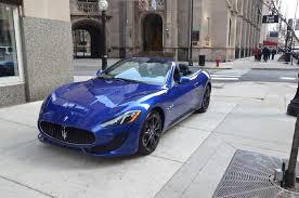 convertible maserati 2016 maserati granturismo sport convertible blue
