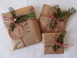 brown gift wrapping paper 40 christmas decorations ideas bringing the christmas spirit into