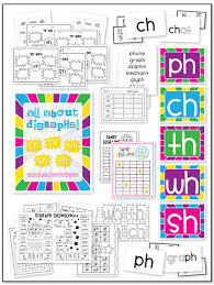 Ph Worksheet Consonant Digraph Packet Sh Ch Ph Th Wh 91 Pages Of