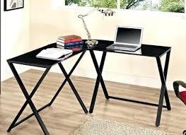 Black Glass L Shaped Desk Glass L Shaped Desk Eulanguages Net
