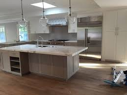 san francisco kitchen cabinets kitchen cabinets painted top cabinets gray stained maple on bottom