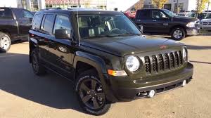 green jeep patriot 2017 2017 jeep patriot 75th anniversary addition youtube