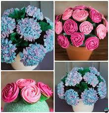 Best  Flower Cupcake Cake Ideas On Pinterest Flower Cupcakes - Pull apart cupcake designs