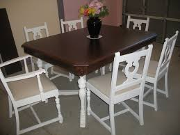 dining tables french country kitchen table and chairs shabby