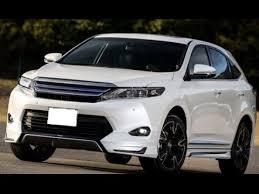 toyota suv review 2016 toyota harrier hybrid suv interior exterior review