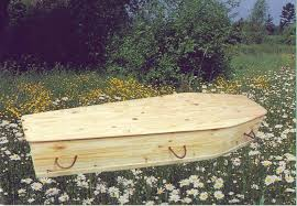 wooden coffin green burial eco coffins eco caskets in solid pine