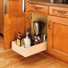 kitchen unique kitchen cabinet design ideas with revashelf revashelf microwave shelf lowes rev a shelf trash pull out