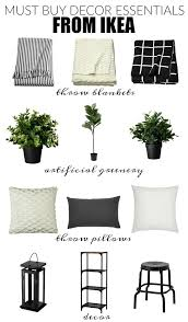 stylish and affordable decor essentials from ikea little house