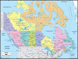 Wall Maps Upside Down Usa And Canada Wall Map Mapscom M Series United