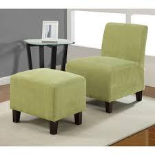 armless chair and ottoman set overstock com armless duo pea chair ottoman set add life