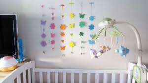 how to make a crib mobile with foamy diy home tutorial