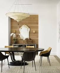 Modern Dining Room Table Refined Dining The Sophisticated Bold And Gold Decor Features