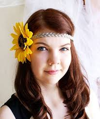 hippie flower headbands best 25 sunflower headband ideas on sunflower floral