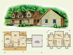 log cabin with loft floor plans log cabin plans with loft home design