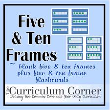 7 best images of double twenty frames printable ten frame cards