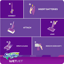 swiffer jet on laminate wood floors
