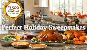 3 500 make this your thanksgiving sweepstakes