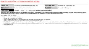 siebel open ui developer resumes u0026 cover letters